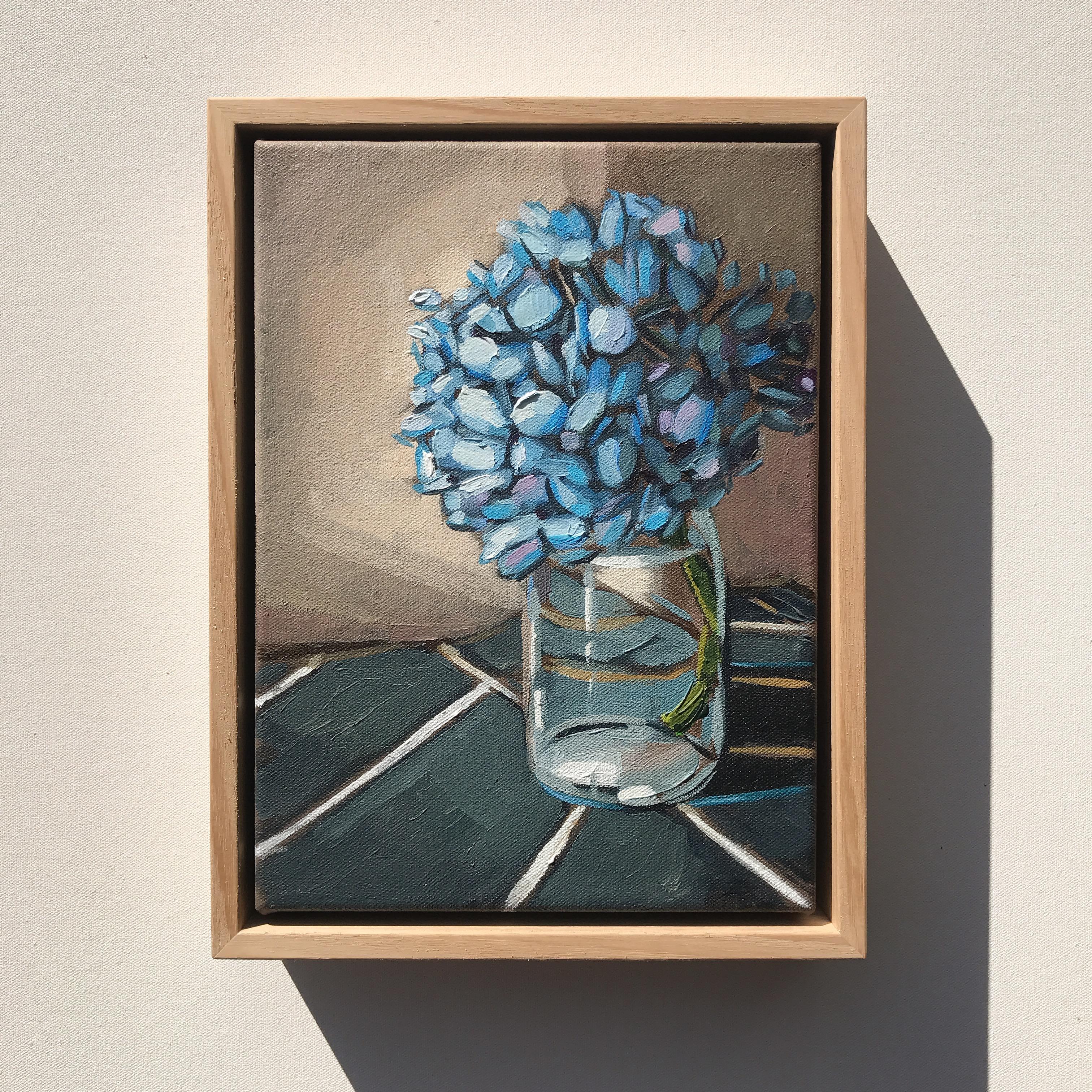 'Blue Hydrangeas' 29x22cm $495