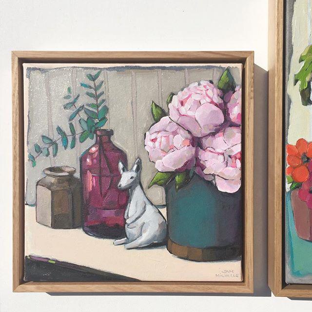 Instagram - Commission, 33x33cm oil on canvas. www.sammichellepaintings
