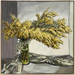 sam michelle 'acacia auriculiformis' 106x106cm