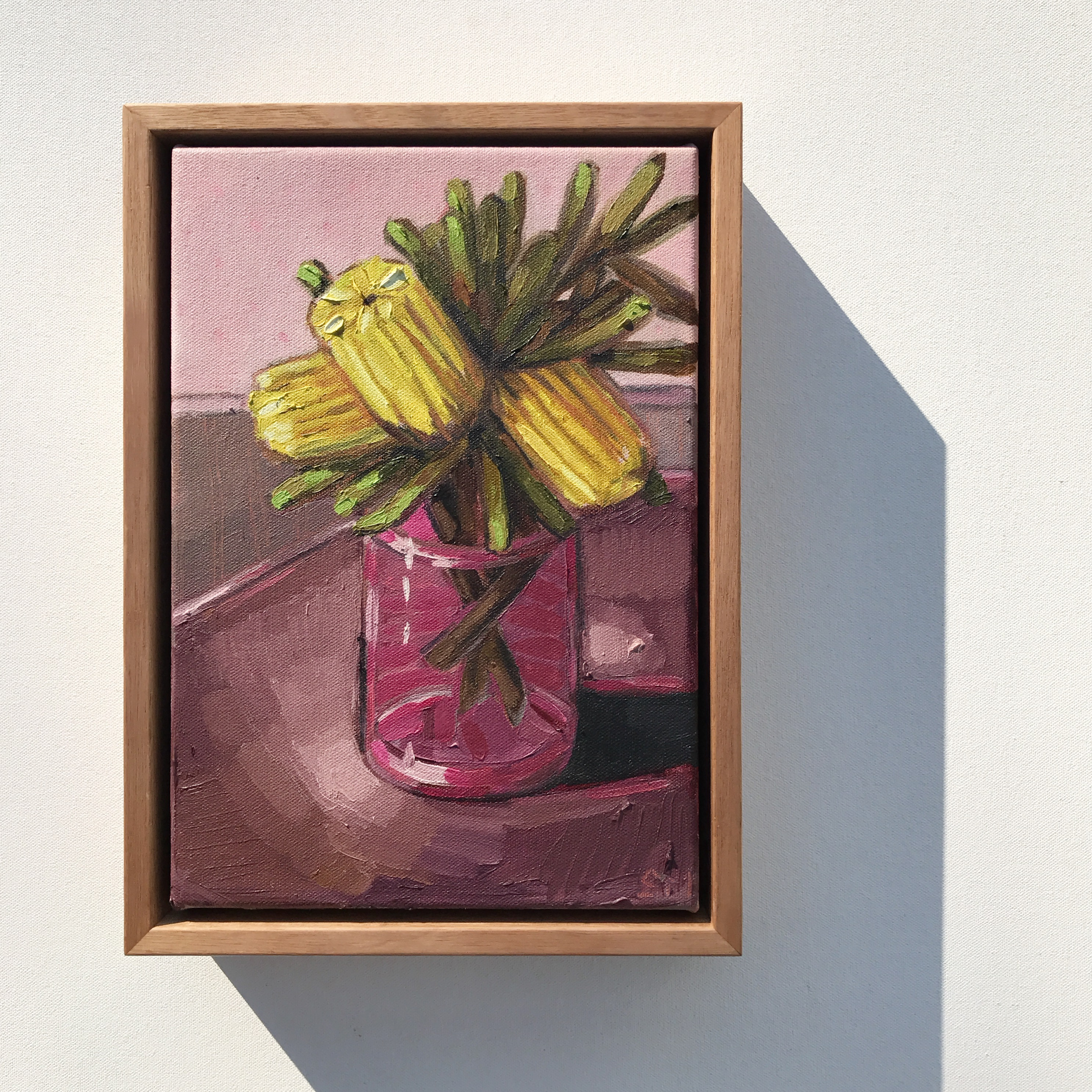 05_17 'Banksias & Burgundy' 21x29cm $395
