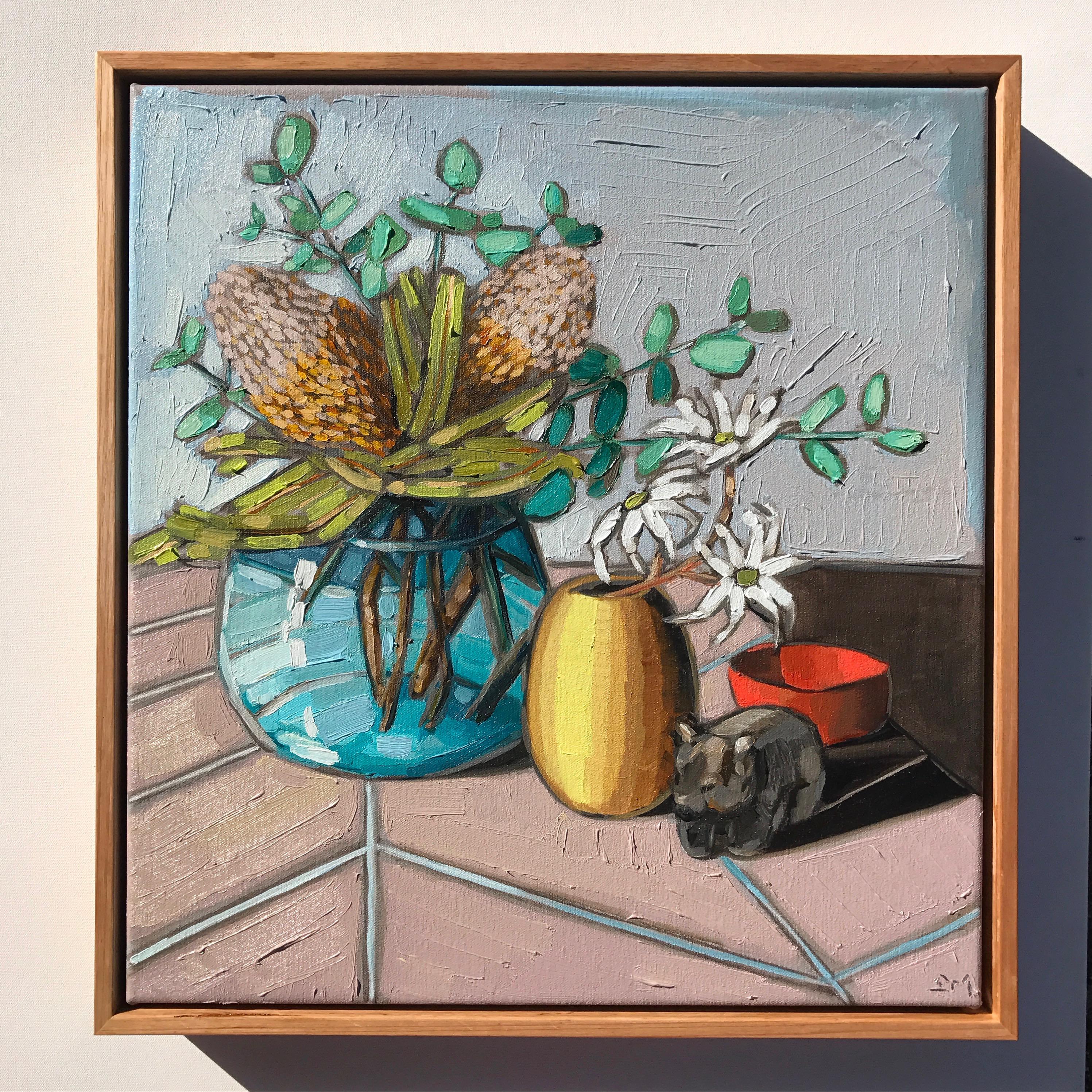 02_17 'Pastels & Natives' Commission 42x46cm