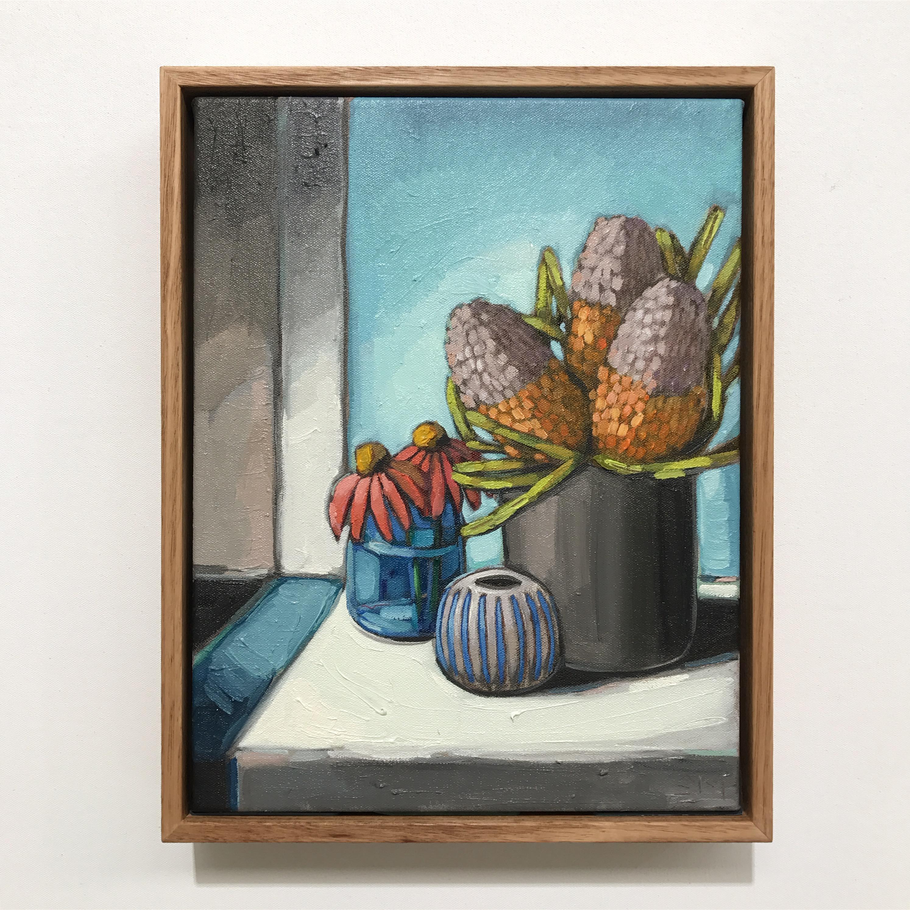 06_17 Banksia & Blue (29x37cm) $695