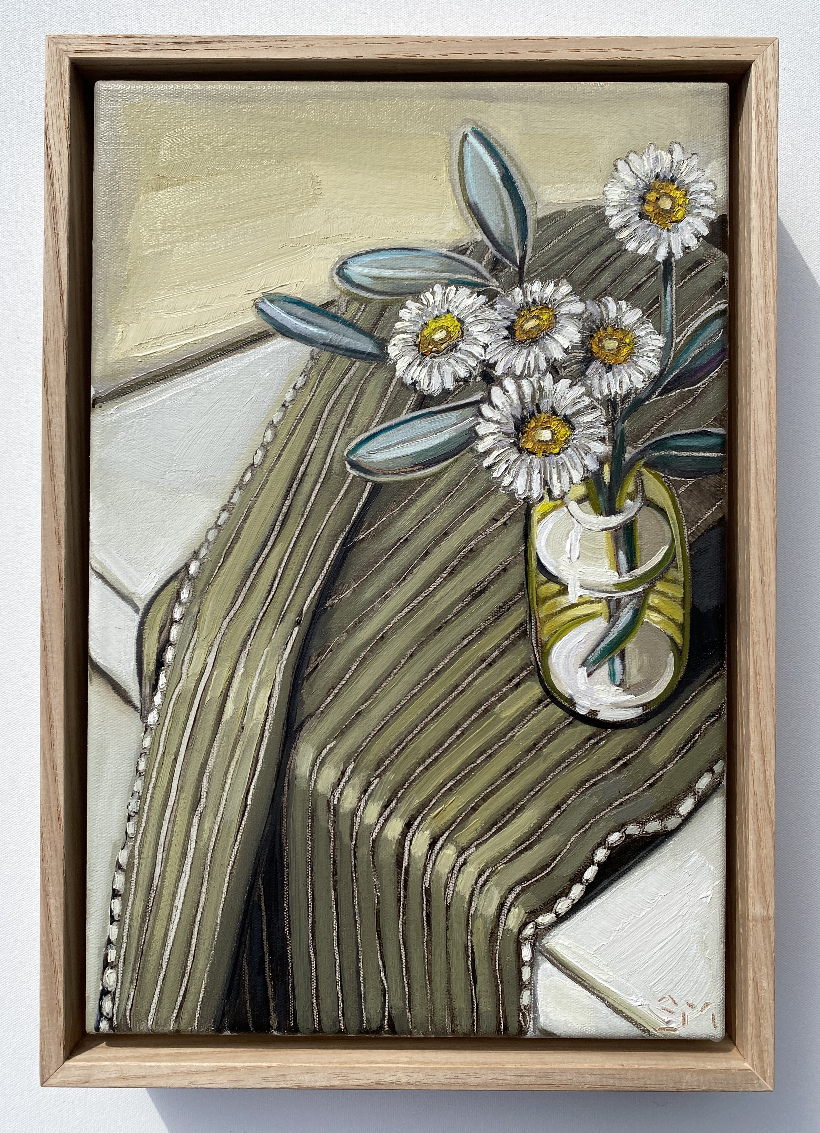 sam michelle 'malborough rock daisy nz' 33x23cm
