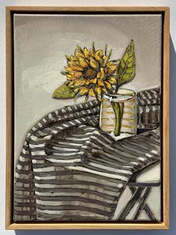 sam michelle 'little sunflower' 38x28cm