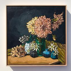 Sam Michelle 'Flannel Flowers & Dahlias'