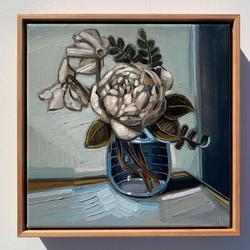 sam michelle 'rose & cyclamen' 31x31cm 2