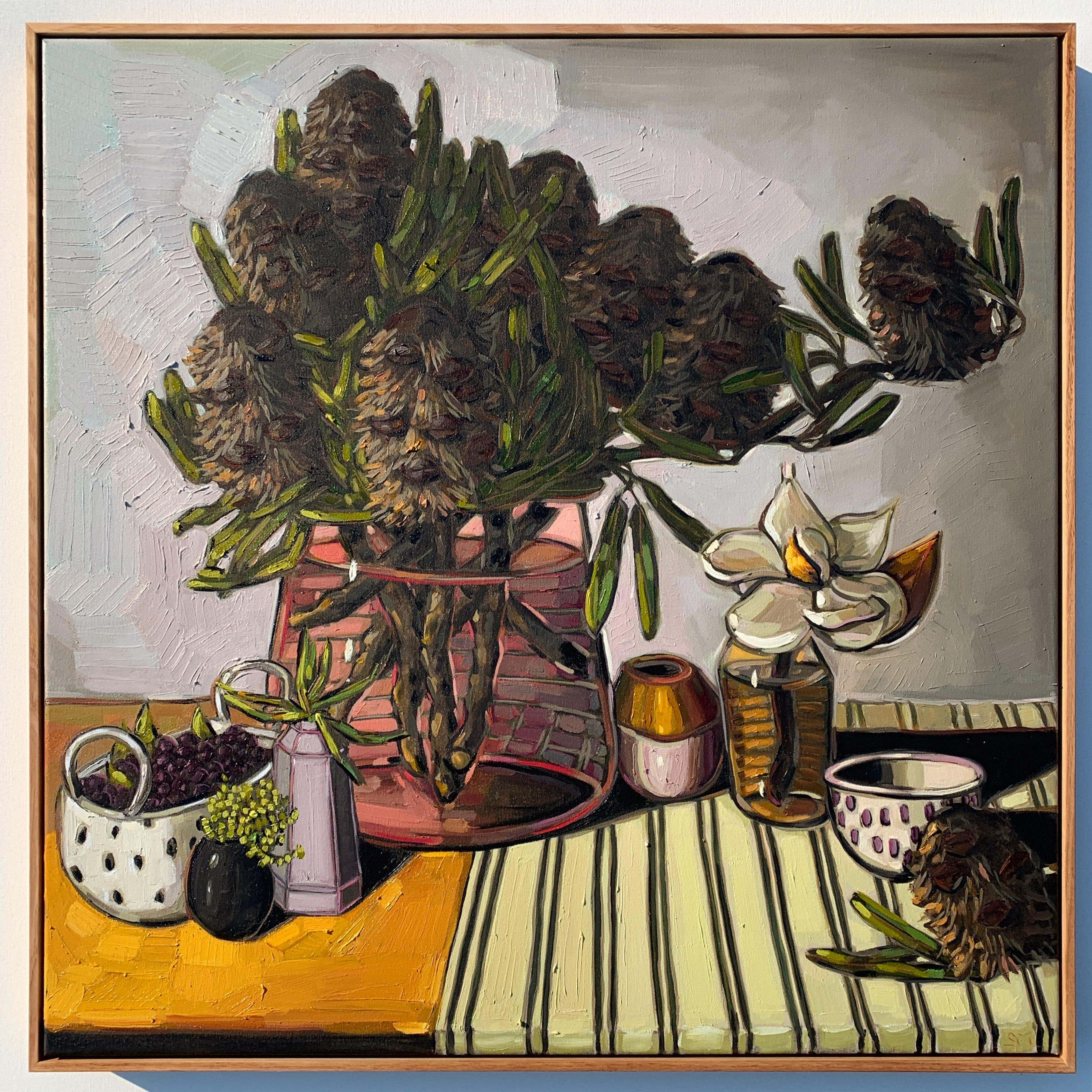 Sam Michelle 'Banksia & Berries' 2019 83