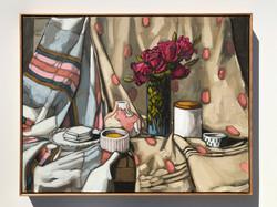 'Textiles & Roses' 73x93cm