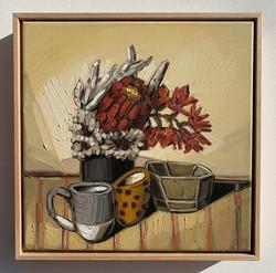 sam michelle 'protea, tea & pohutukawa'