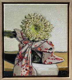 sam michelle 'chrysanthemum & cape' 28x25cm 2021
