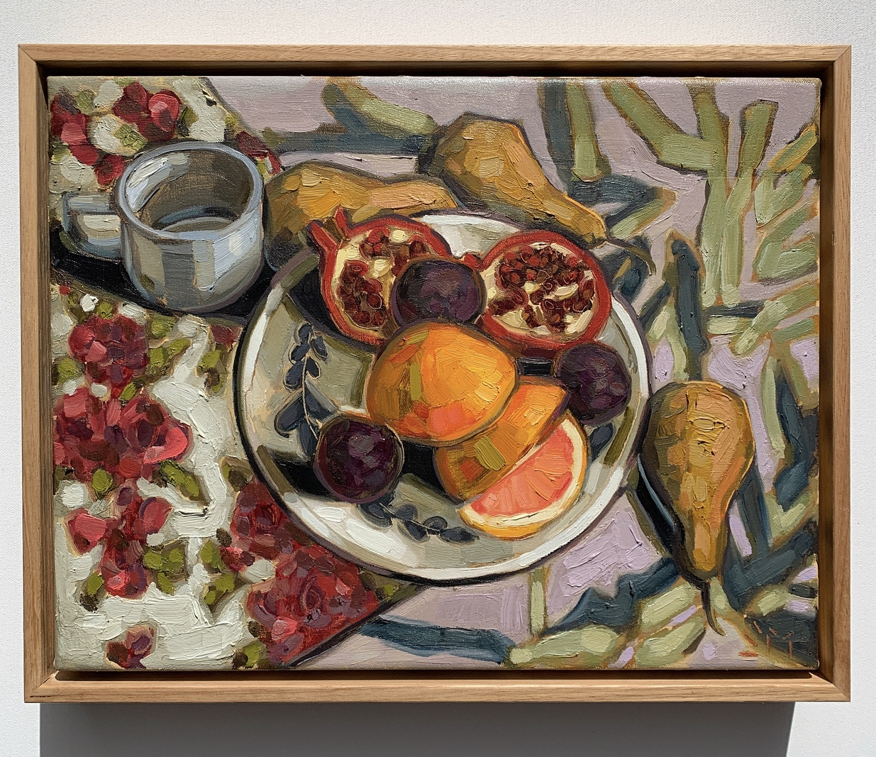 sam michelle 'fruits, tea & table' 30x38