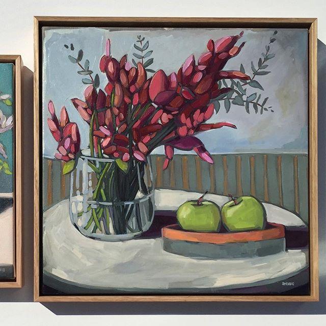 Instagram - '2 Green Apples' - Sold  #art #apples #oilpainting #painting #stilllife  #australianart