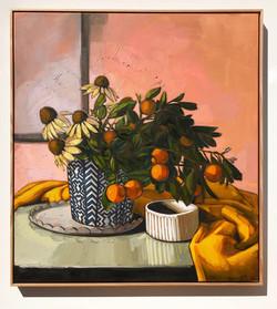 'Summer Cumquats'113x103cm