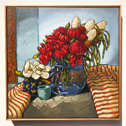 Sam Michelle 'Red Charm Peonies' 2019 68