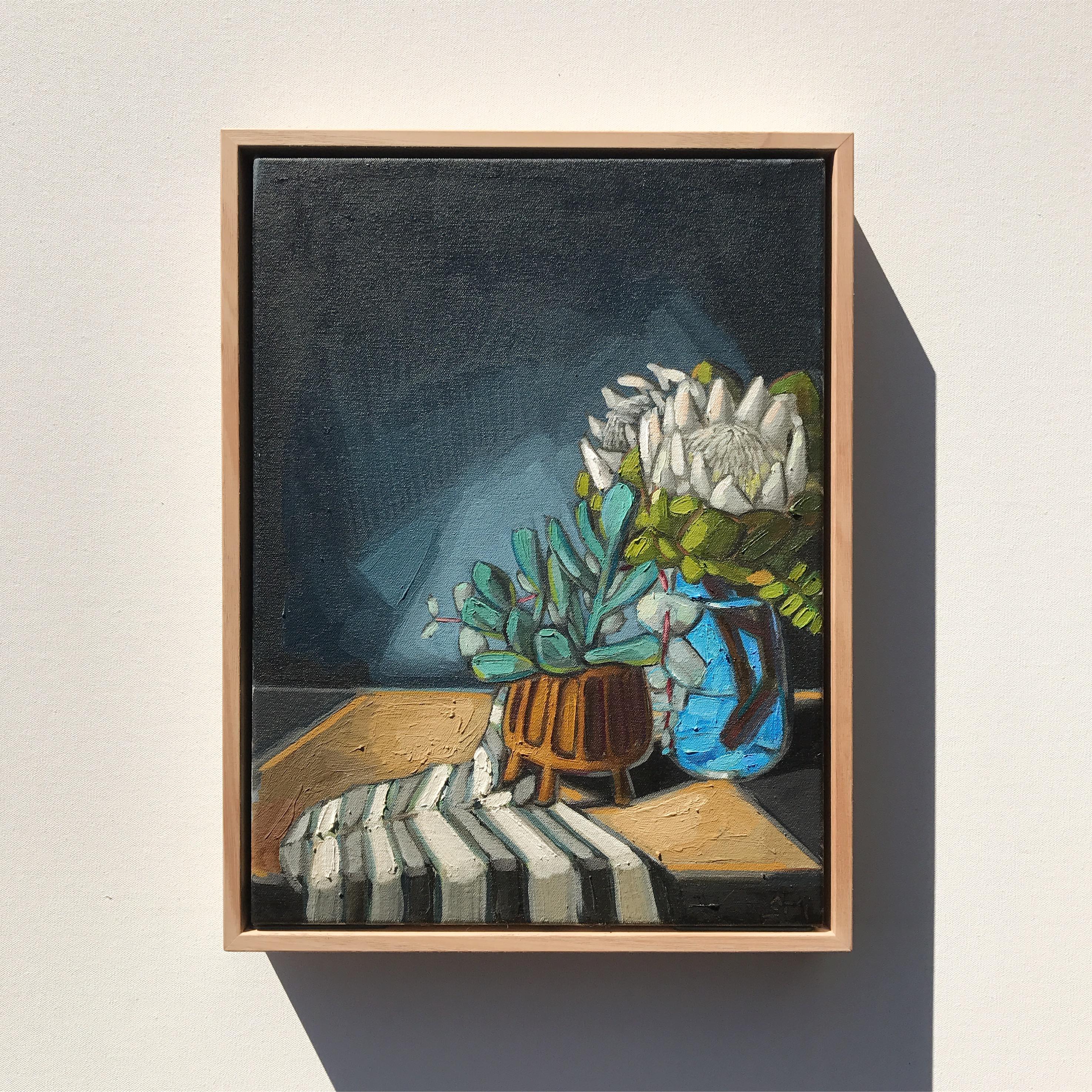 'White Proteas' 43x33cm $795