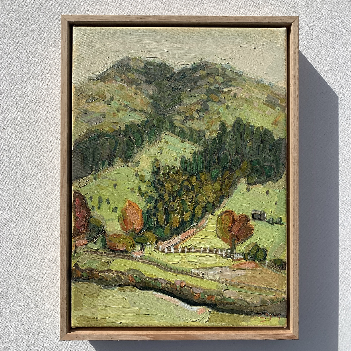sam michelle 'hills & trees' 38x28cm 201