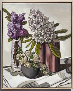 sam michelle 'snowballs, lilac & rhodode