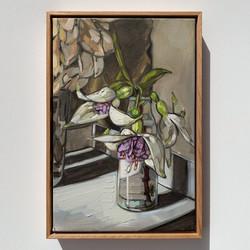 Sam Michelle 'Spring Fuchsias' 48x33cm