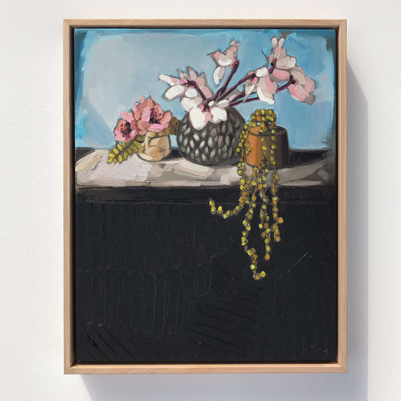 11_16 'Life Still, Cyclamen' 40x50cm