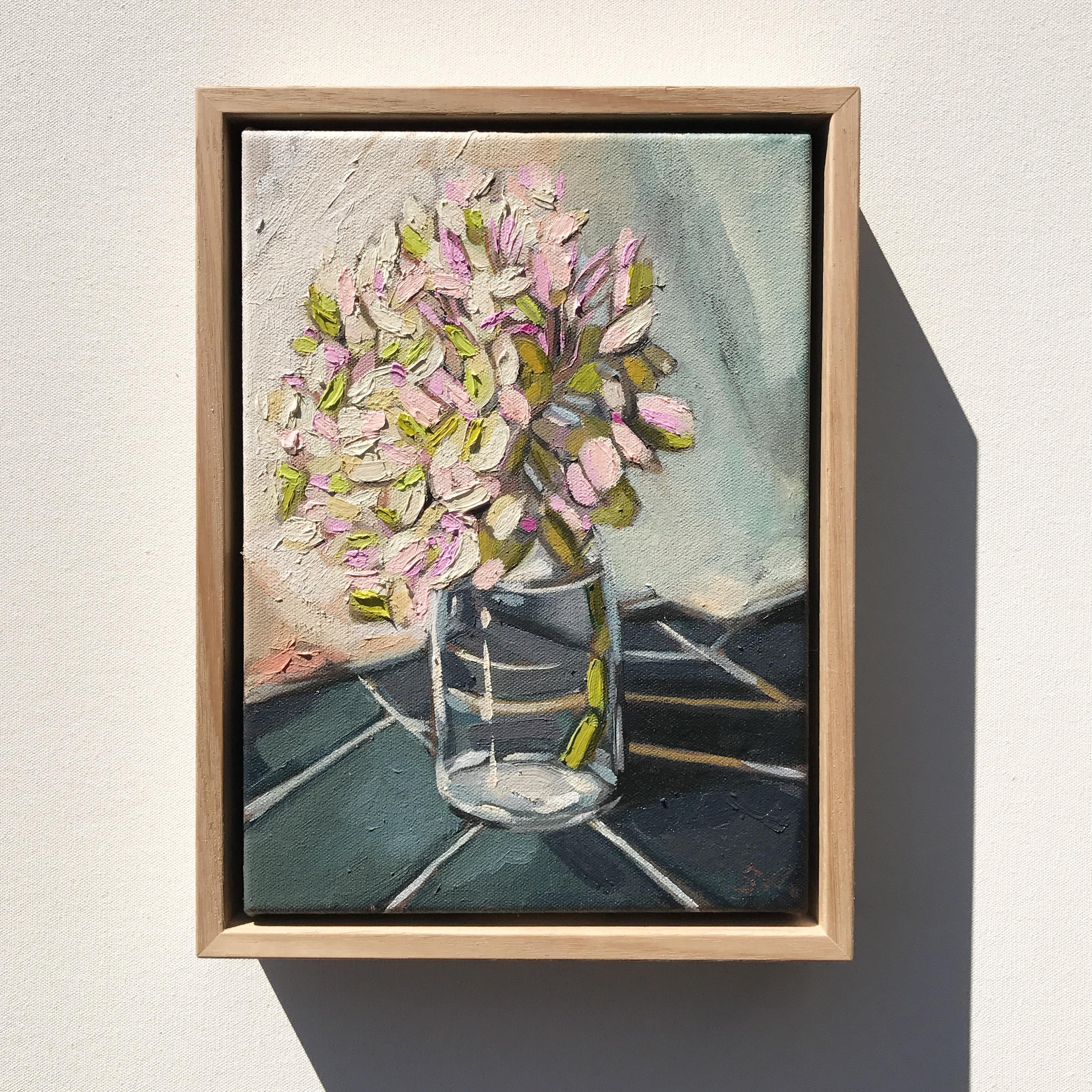 'Pink Hydrangeas' 29x22cm $495