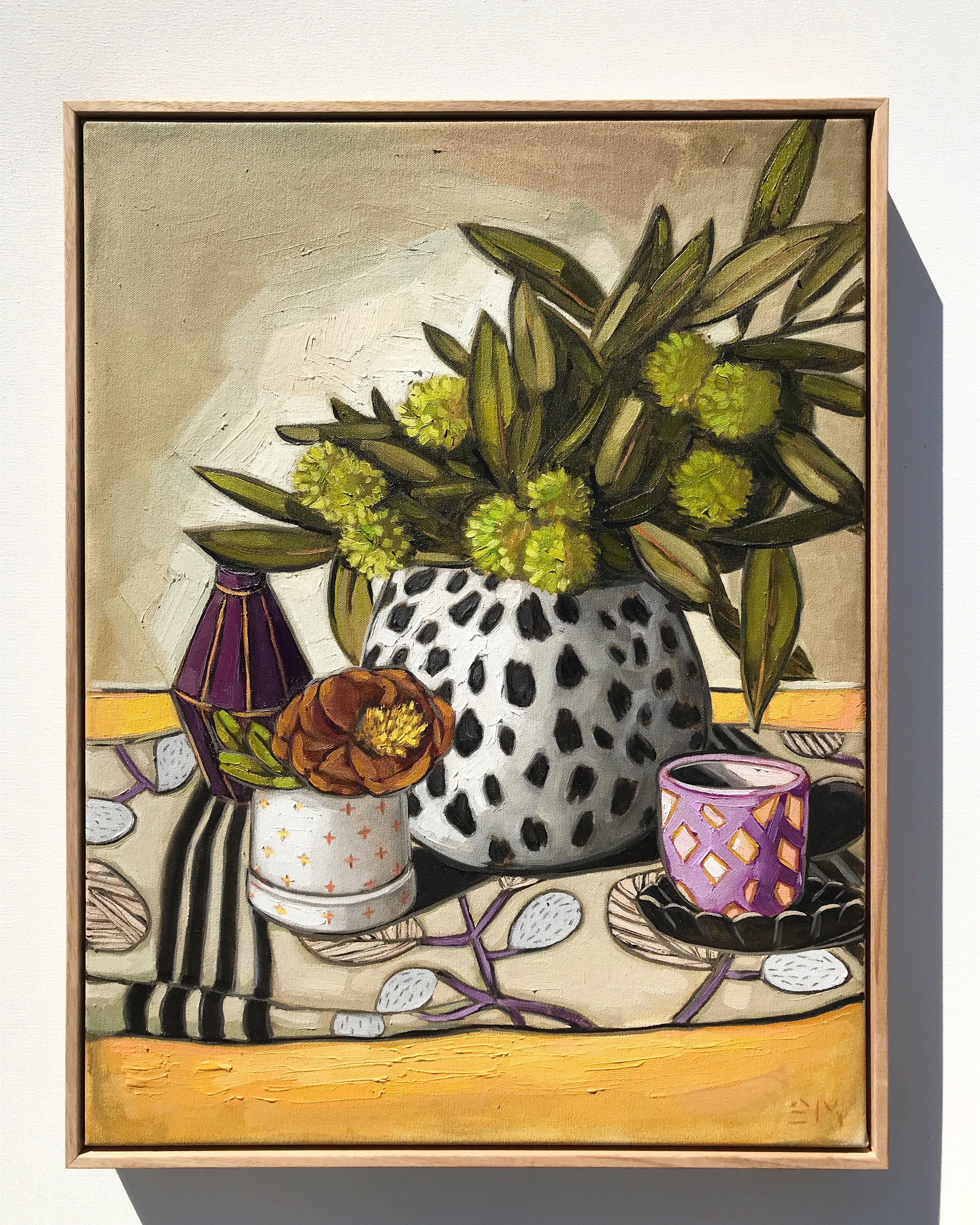 'Chestnuts & Rose' 65cmx50cm