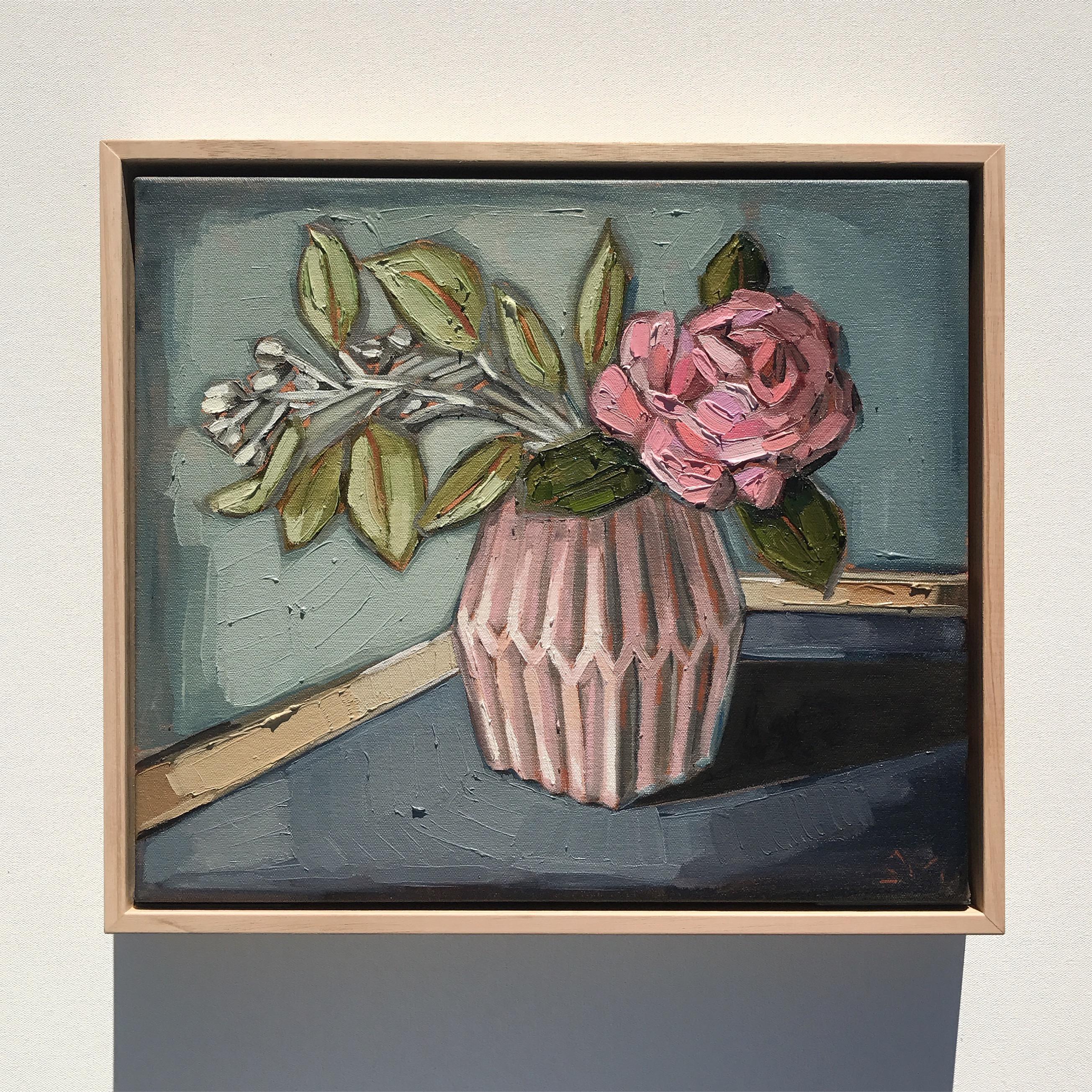 05_17 Gum Nuts & Pink Rose (41x36cm $795)