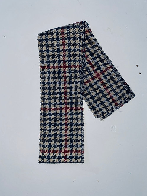 CHECKER PLAID HEADBAND RARE - 1 LEFT