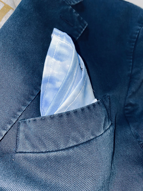 DARK BLUE CLOUDS HANKER-CHIEF
