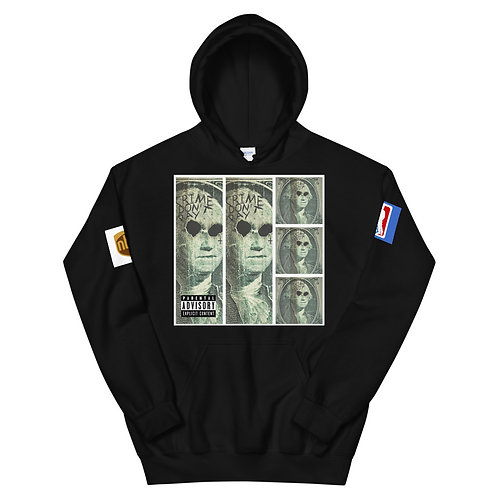 CRIME DONT PAY Unisex Hoodie