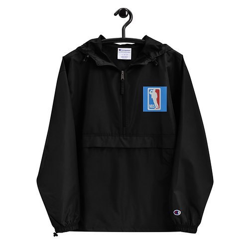 "NBS ""A Toast"" Embroidered Champion Packable Jacket"