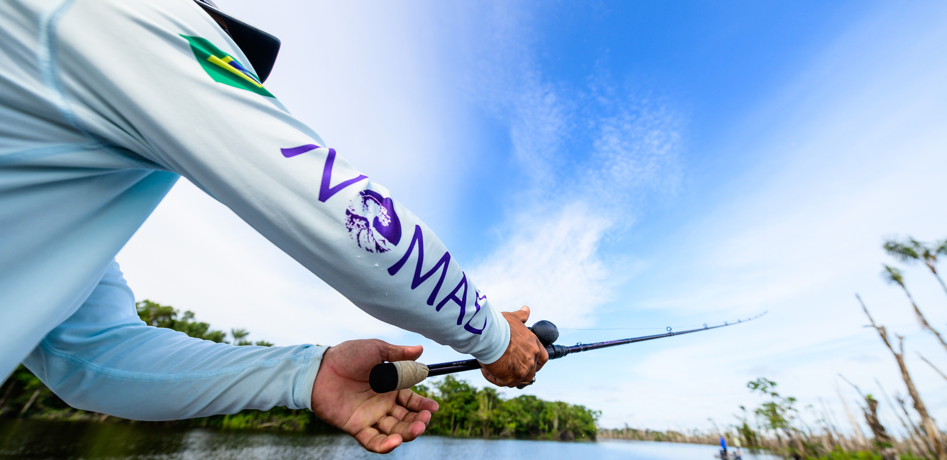 Nomadic Waters Conventional fishing