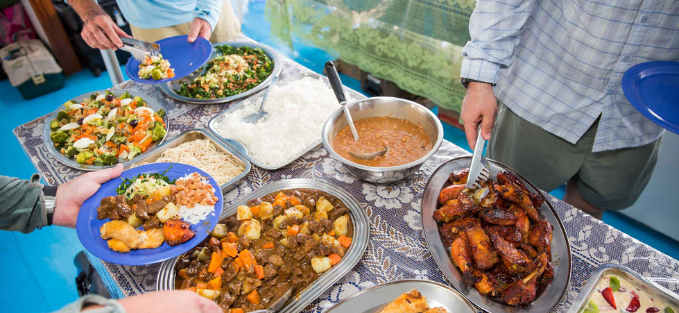 Nomadic Waters food and dining experience