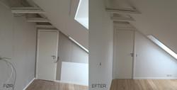 Malerarbejde i lejlighed