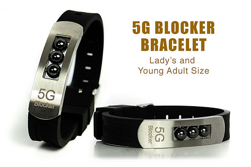 5G Blocker Lady's Bracelet and Young Adult Size