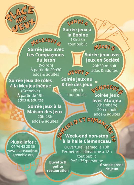 Place aux Jeux à Grenoble - du 29 janvier au 4 février