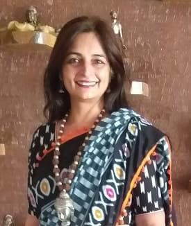 Diwali Greetings from Ms Preeti Pasricha, Assistant Primary Coordinator, C P Goenka International...