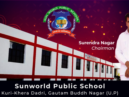 Diwali Greetings from Mr Surendra Nagar, Chairman, Sunworld Public School, Kuri-Khera, Dadri