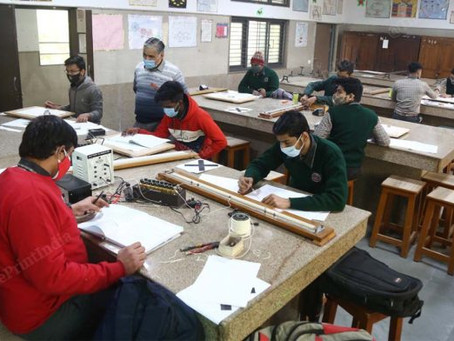 Delhi schools reopen after 10-month hiatus but receive a lukewarm response from students