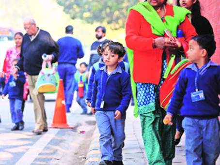 Nursery admissions will take 2-3 weeks: Delhi government