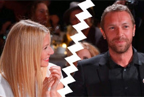 Gwyneth Paltrow & Chris Martin SPLIT