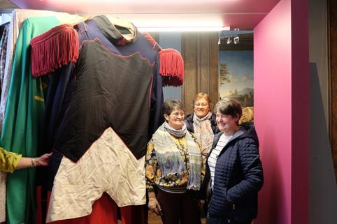 Avec Michèle, Danielle et Marie-Thérèse