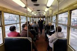 Tram Bruxelles avec Tress'Âges