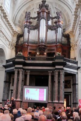 Concert d'orgue à Saint Aubain avec Tress'Âges