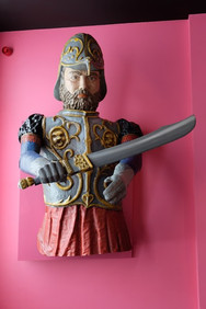 Géants de Ath et Amaryllis à Beloeil avec Tress'Âges