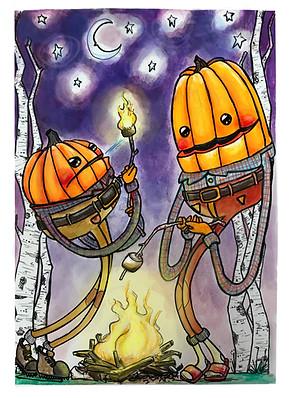 Pumpkin Pals Campfire