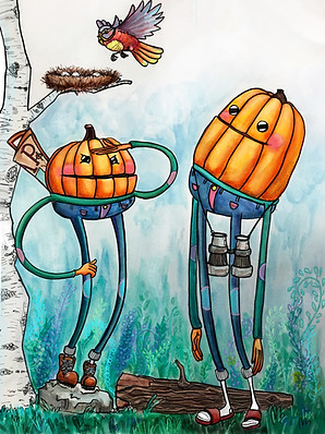 Pumpkin Pals Hiking