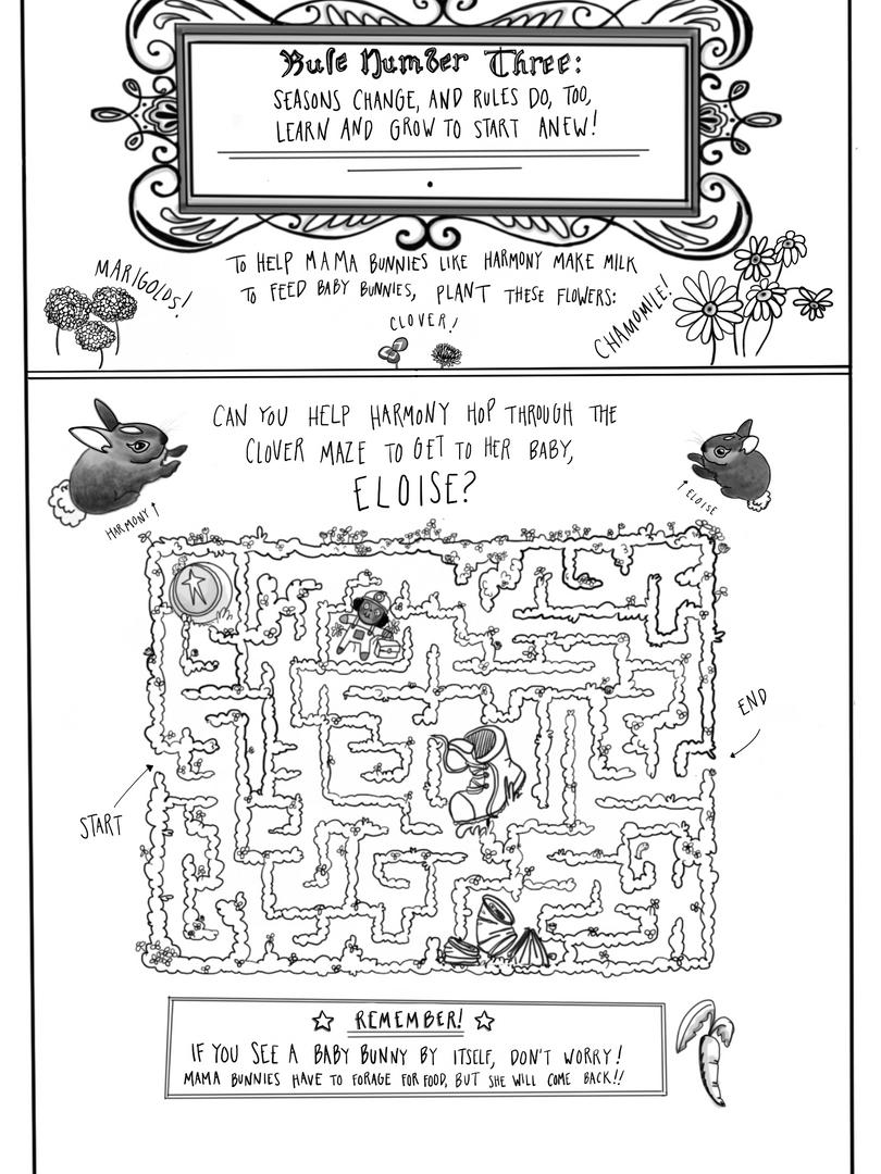 Page 3: Bunny Maze