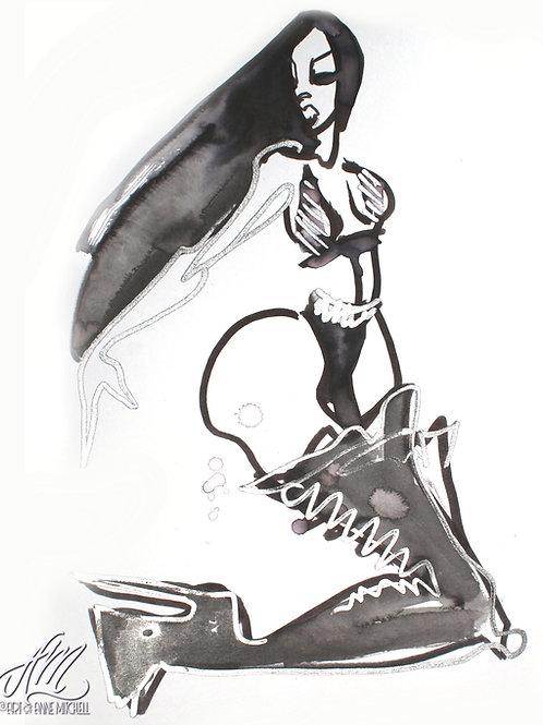 CCG 'Slutty Halloween' Candace Major Boots