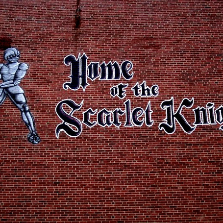 Home of the Scarlet Knights Mural