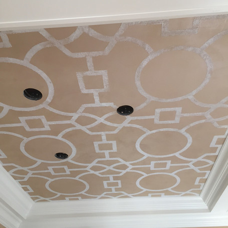 Graphic Ceiling Pattern
